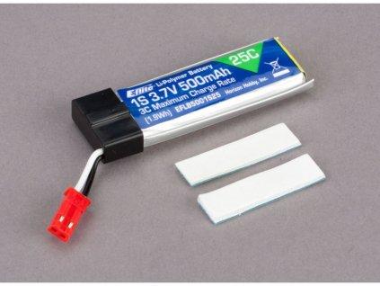E-flite LiPo 3.7V 500mAh 25C JST - EFLB5001S25