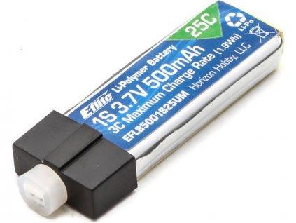 E-flite LiPo 3.7V 500mAh 25C UMX - EFLB5001S25UM