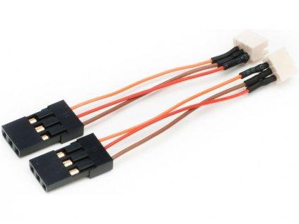 E-flite redukce JST-ZHR (1.5mm) / RX (2) - EFLRA100