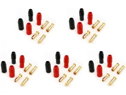 AS150 7mm konektor Anti Spark (5 párů) - FO-FS-AS150/05