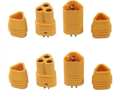MT60 3-pólový konektor (2 páry) - FO-FS-MT60/02