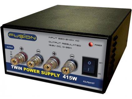 Fusion stabilizovaný zdroj 415W 230V/13.8V 30A - FO-FS-PS415TE