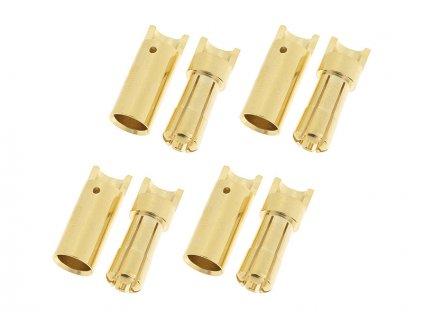 Konektor zlacený 5.5mm (4 páry) - GF-1000-010