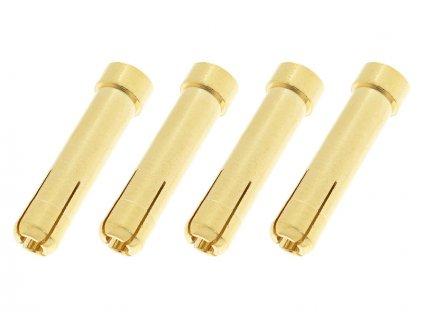 Konektor zlacený - redukce 4 samice/5mm samec (4) - GF-1000-016