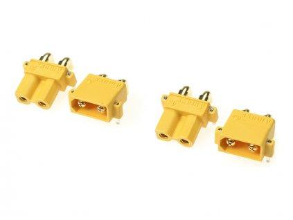 Konektor zlacený XT-30PW (2 páry) - GF-1031-001