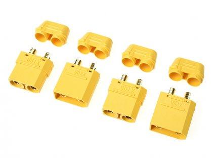 Konektor zlacený XT-90H (2 páry) - GF-1053-001