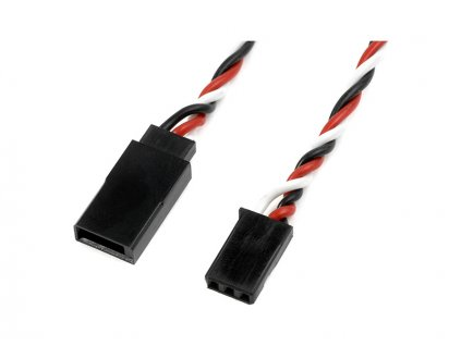 Kabel serva prodlužovací kroucený Futaba 22AWG HD 100cm - GF-1120-015