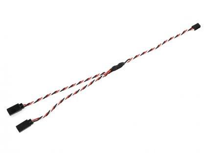 Kabel serva Y kroucený Futaba HD 22AWG 30cm - GF-1120-021