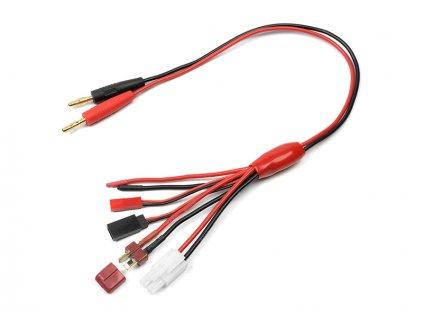 Nabíjecí kabel - JST/FUT-Rx/TAM-M/DNS-M 16AWG - GF-1200-140