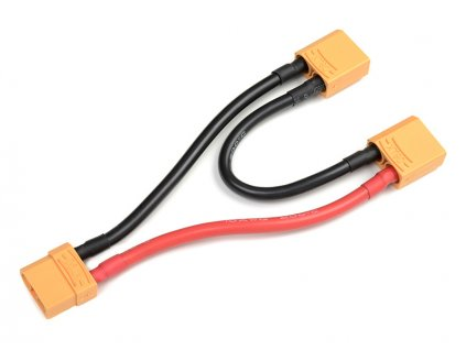 Sériový Y-kabel XT-90 Anti-Spark 10AWG 12cm - GF-1321-025