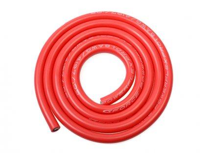 Kabel se silikonovou izolací Powerflex 8AWG červený (1m) - GF-1341-010