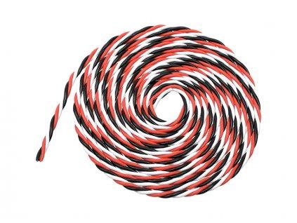 Kabel serva kroucený 22AWG (2m) - GF-1350-001