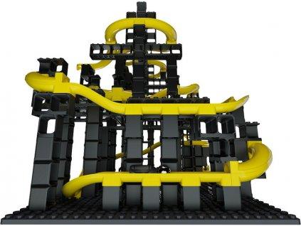 HUBELINO Pi Kuličková dráha - set s kostkami XL 246 dílků - HUB440440