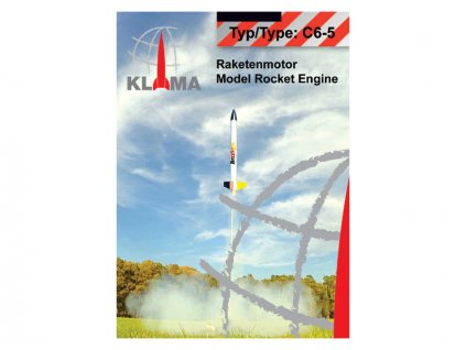 Klima raketový motor C6-5 EL (30ks) - KL-0355
