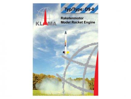 Klima raketový motor D9-0 EL (6ks) - KL-0400