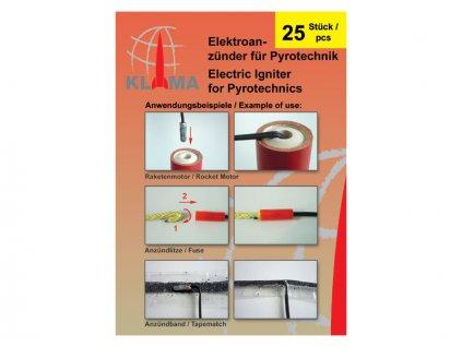 Klima elektrický palník (25ks) - KL-7002