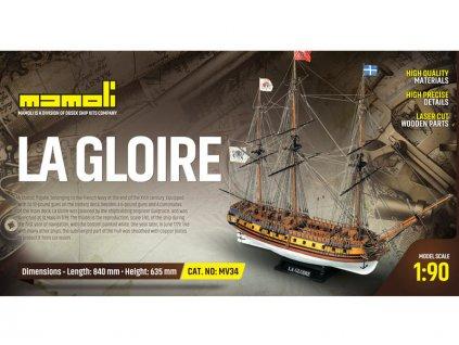 MAMOLI La Gloire 1778 1:90 kit - KR-21734