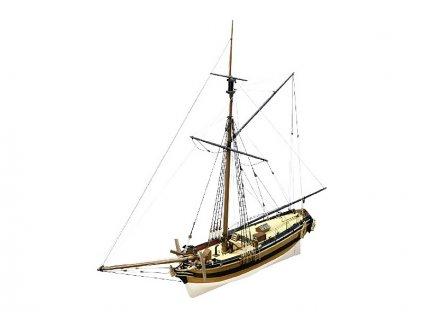CALDERCRAFT H.M. Chatham 1660 1:64 kit - KR-29011