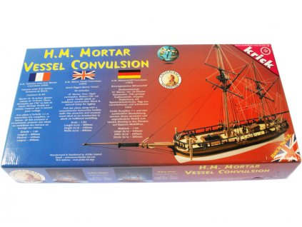 CALDERCRAFT Convulsion H.M. Mortar 1804 1:64 kit - KR-29012