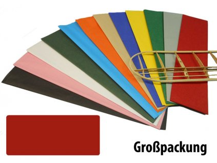 Krick potahový papír červený 18g/m2 51x76cm (50) - KR-40383