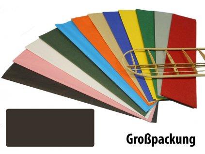 Krick potahový papír černý 18g/m2 51x76cm (50) - KR-40389