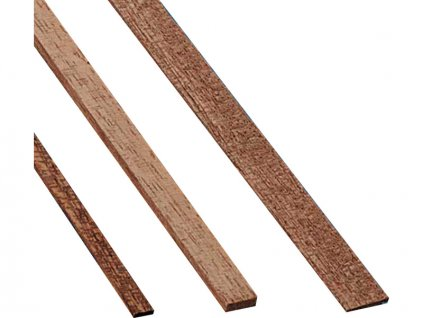 Krick Lišta mahagon 1x7mm 1m (10) - KR-81569