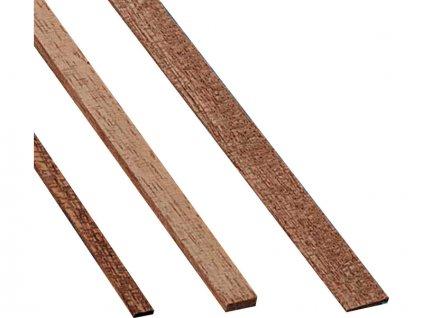 Krick Lišta mahagon 2x7mm 1m (10) - KR-81573
