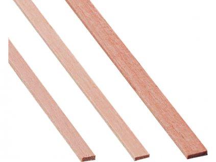 Krick Lišta hruška 8x8mm 1m (10) - KR-82051