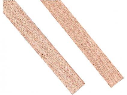 Krick Lišta mahagon sapelli 2x7mm 1m (10) - KR-83148