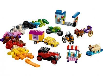 LEGO Classic - Kostky na kolečkách - LEGO10715