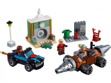 LEGO Juniors - Bankovní loupež Podkopávače - LEGO10760