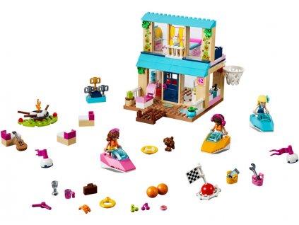 LEGO Juniors - Stephanie a její dům u jezera - LEGO10763