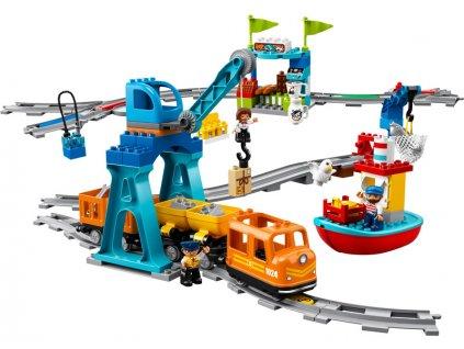 LEGO DUPLO - Nákladní vlak - LEGO10875
