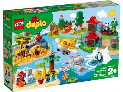LEGO DUPLO - Zvířata světa - LEGO10907
