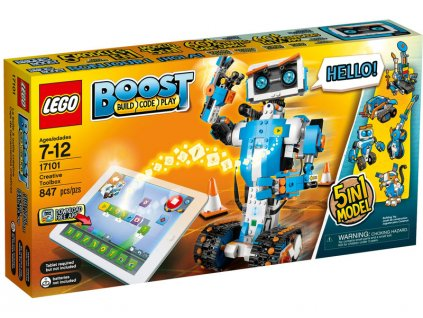 LEGO BOOST - Tvořivý box - LEGO17101