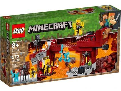 LEGO Minecraft - Most ohniváků - LEGO21154