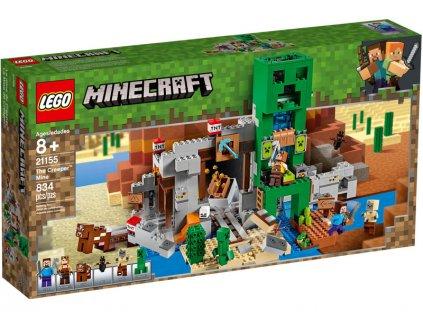 LEGO Minecraft - Creepův důl - LEGO21155