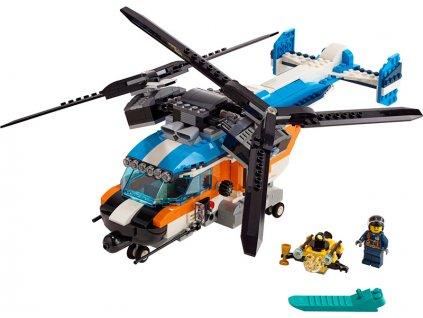 LEGO Creator - Helikoptéra se dvěma rotory - LEGO31096