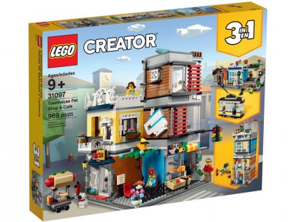 LEGO Creator - Zverimex s kavárnou - LEGO31097
