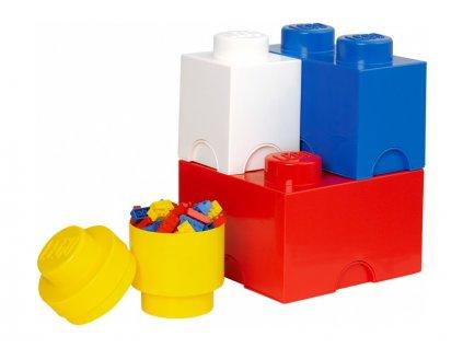 LEGO úložné boxy Multi-Pack - 4ks - LEGO40150001