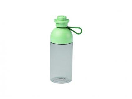 LEGO láhev na pití 0.5L - transparentní army zelená - LEGO40420005