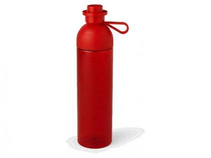 LEGO láhev na pití 0.74L - transparentní červená - LEGO40430001
