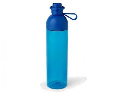 LEGO láhev na pití 0.74L - transparentní modrá - LEGO40430002
