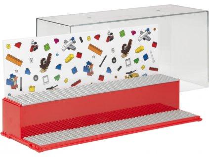 LEGO herní a sběratelská skříňka - Iconic červená - LEGO40700001