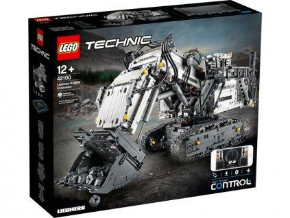 LEGO Technic - Bagr Liebherr R 9800 - LEGO42100