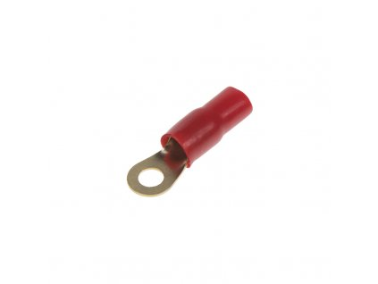 Očko červené M8 pro kabel 25mm, 10ks - ap1025
