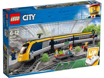 LEGO City - Osobní vlak - LEGO60197