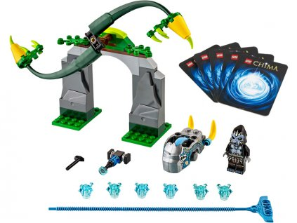 LEGO Chima - Zákeřné šlahouny - LEGO70109
