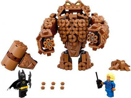 LEGO Batman Movie - Clayfaceův bahnitý útok - LEGO70904