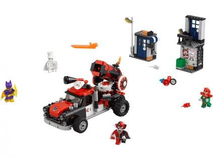 LEGO Batman Movie - Harley Quinn a útok dělovou koulí - LEGO70921